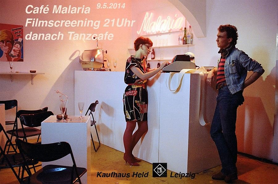 Cafe Malaria Screening Kaufhaus Held Leipzig
